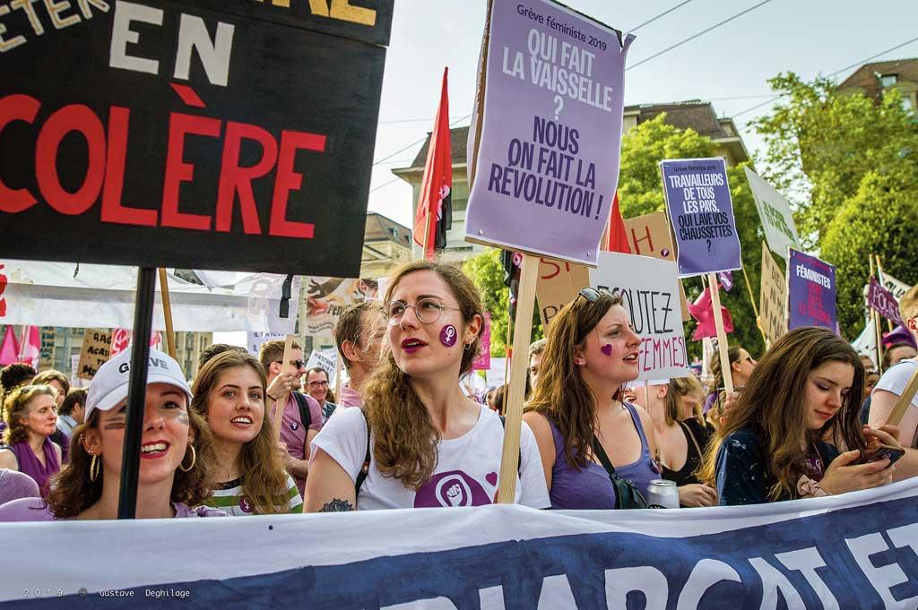 Grève des femmes, Lausanne, 14 juin 2019